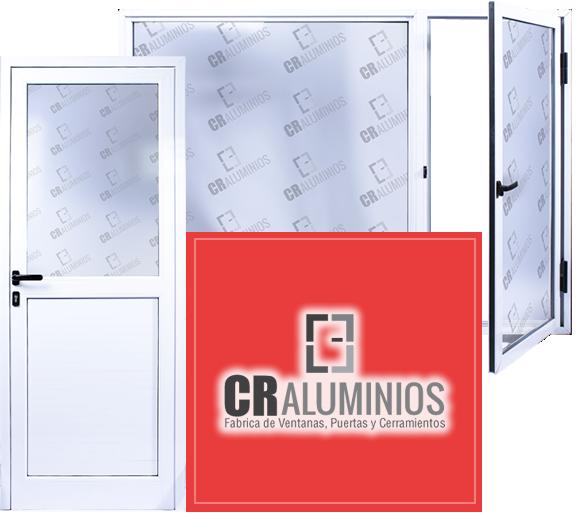 Cr aluminios fabrica de ventanas puertas y cerramientos for Fabrica de puertas de aluminio