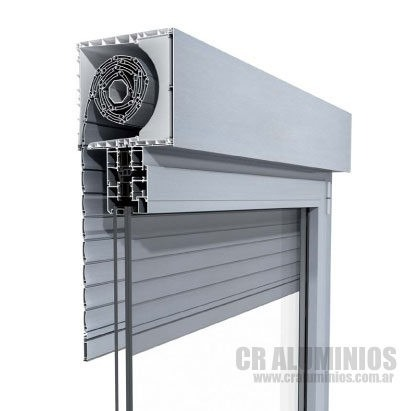 Ventana modena sistema compacto persiana aluminio 150x90 for Persiana de aluminio