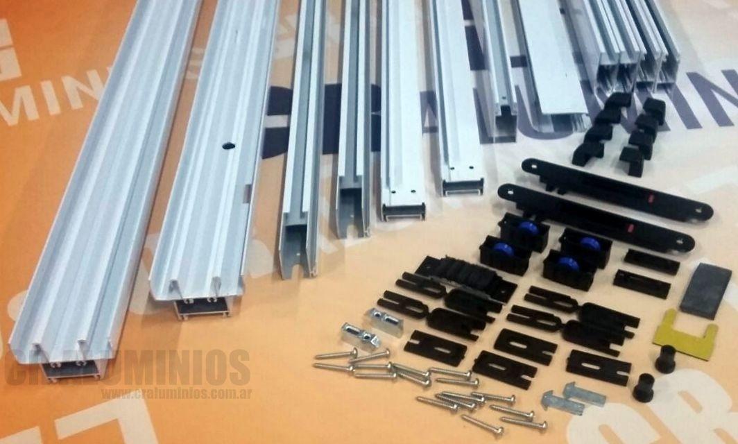 Kit para armar ventana aluminio linea modena 120x110 for Carpinterias de aluminio en argentina