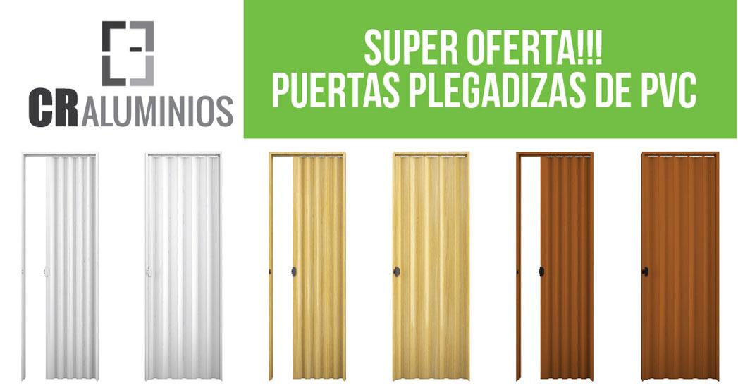 Puertas plegadizas de pvc for Puertas de pvc precios