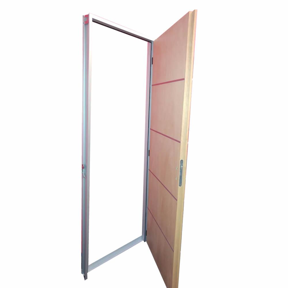 Puerta placa marco aluminio |