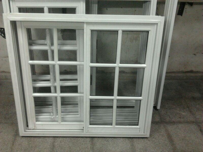 Ventana puerta balc n vidrio repartido x 200 for Ventana balcon medidas
